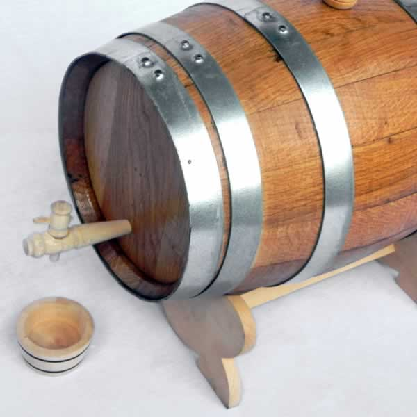 Barrica Sidra natural de 100 L