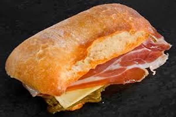 Chapatita de Jamon y Queso